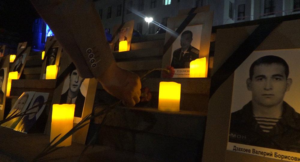 В Южной Осетии вспоминают жертв грузинской агрессии в августе 2008 года