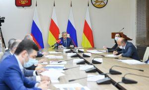 На заседании проектного офиса обсудили новый формат празднования Нового года во Владикавказе