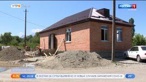 В селении Нижний Бирагзанг завершается строительство новой амбулатории