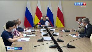 Вячеслав Битаров провел заседание рабочей группы по вопросу формирования зон приоритетного экономического развития в РСО-А