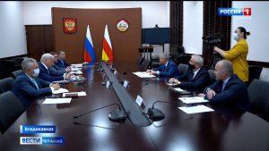 Вячеслав Битаров встретился с представителями «МСП Банк» и группы компаний «ПИК»