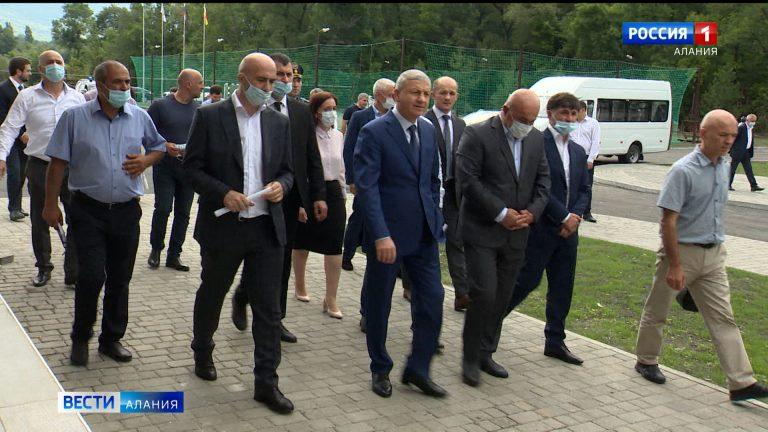 Вячеслав Битаров оценил качество строительных работ в будущей академии футбола «Алания»