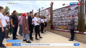 В Северной Осетии побывали участники проекта «Ломоносовский обоз: Грозный — Крым»