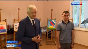 Алексей Мачнев встретился с активистами благотворительного фонда «Быть добру»
