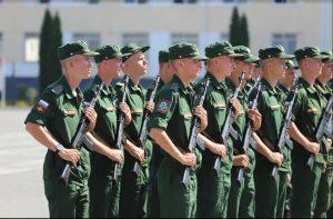 Новобранцы 58-й армии приняли присягу в Северной Осетии