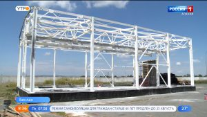 На очистные сооружения Беслана доставлено более 600 единиц нового технологического оборудования