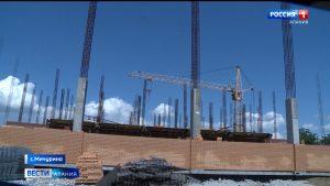 Активисты ОНФ провели мониторинг строительства и реконструкции спортивных объектов в Ардонском районе