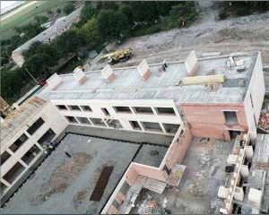В селении Цалык продолжается строительство школы на 200 мест