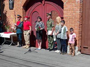 Во Владикавказе открыли мемориальную доску ветерану Великой Отечественной войны Захару Бесолову