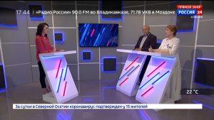 Россия 24. Роль писателей и журналистов в патриотическом воспитании молодежи