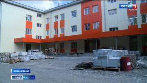 В РДКБ завершается реконструкция соматического корпуса и строительство поликлиники