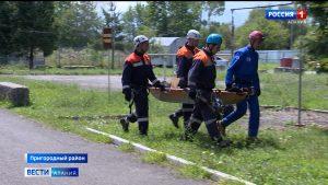 Североосетинские спасатели отработали технику оказания помощи пострадавшим в горах