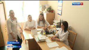 Врачи Октябрьской районной поликлиники, помогавшие коллегам в «красной зоне», возвращаются к привычному режиму работы