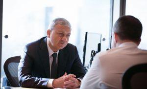 Вячеслав Битаров и Михаил Бабич обсудили реализацию важных проектов на территории Северной Осетии