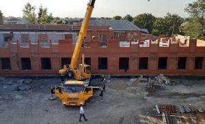 В Ногире продолжается реконструкция школы