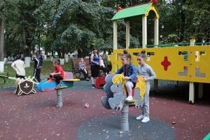 В с. Октябрьском после реконструкции открыли парк культуры и отдыха