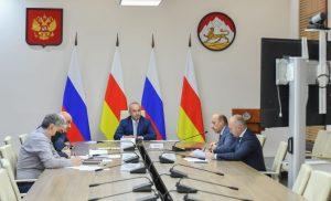 Таймураз Тускаев провёл заседание межведомственной рабочей группы по развитию ВТРК «Мамисон»