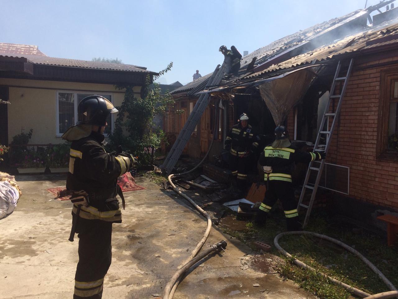 Во Владикавказе при пожаре погиб 50-летний мужчина