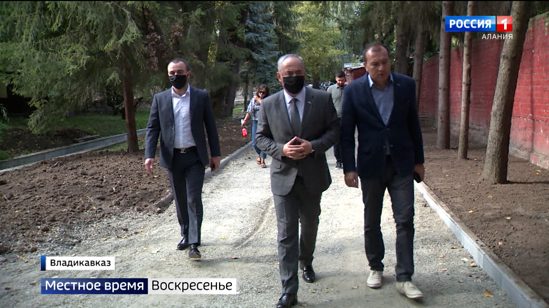 Таймураз Тускаев провел очередной рейд по реконструкции социально важных объектов