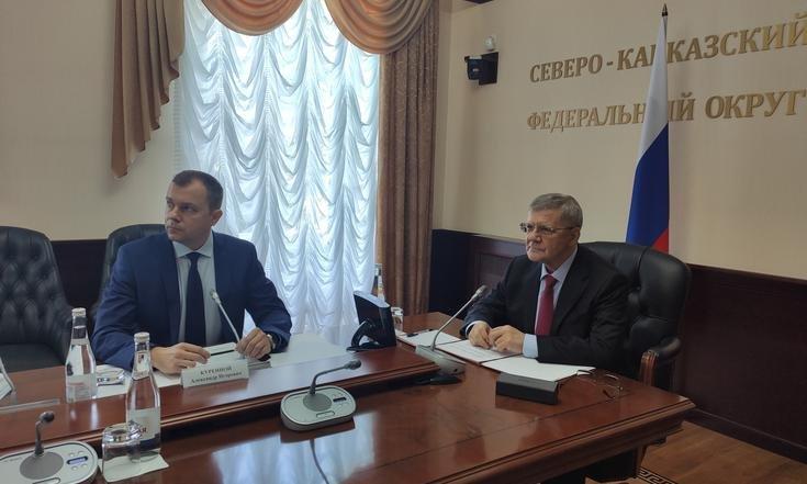 Юрий Чайка провел заседание Комиссии при полпреде президента РФ в СКФО по делам казачества