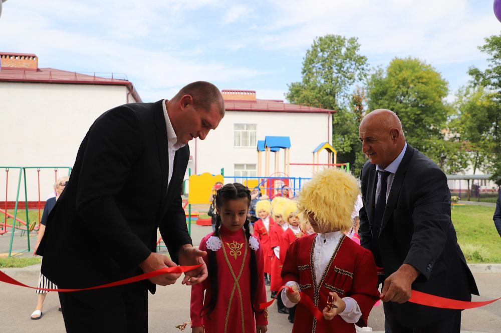 В 86-м детском саду Владикавказа открыли три группы для раннего возраста