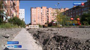 В Северной Осетии продолжает благоустройство общественных и дворовых территорий по проекту «Формирование комфортной городской среды»