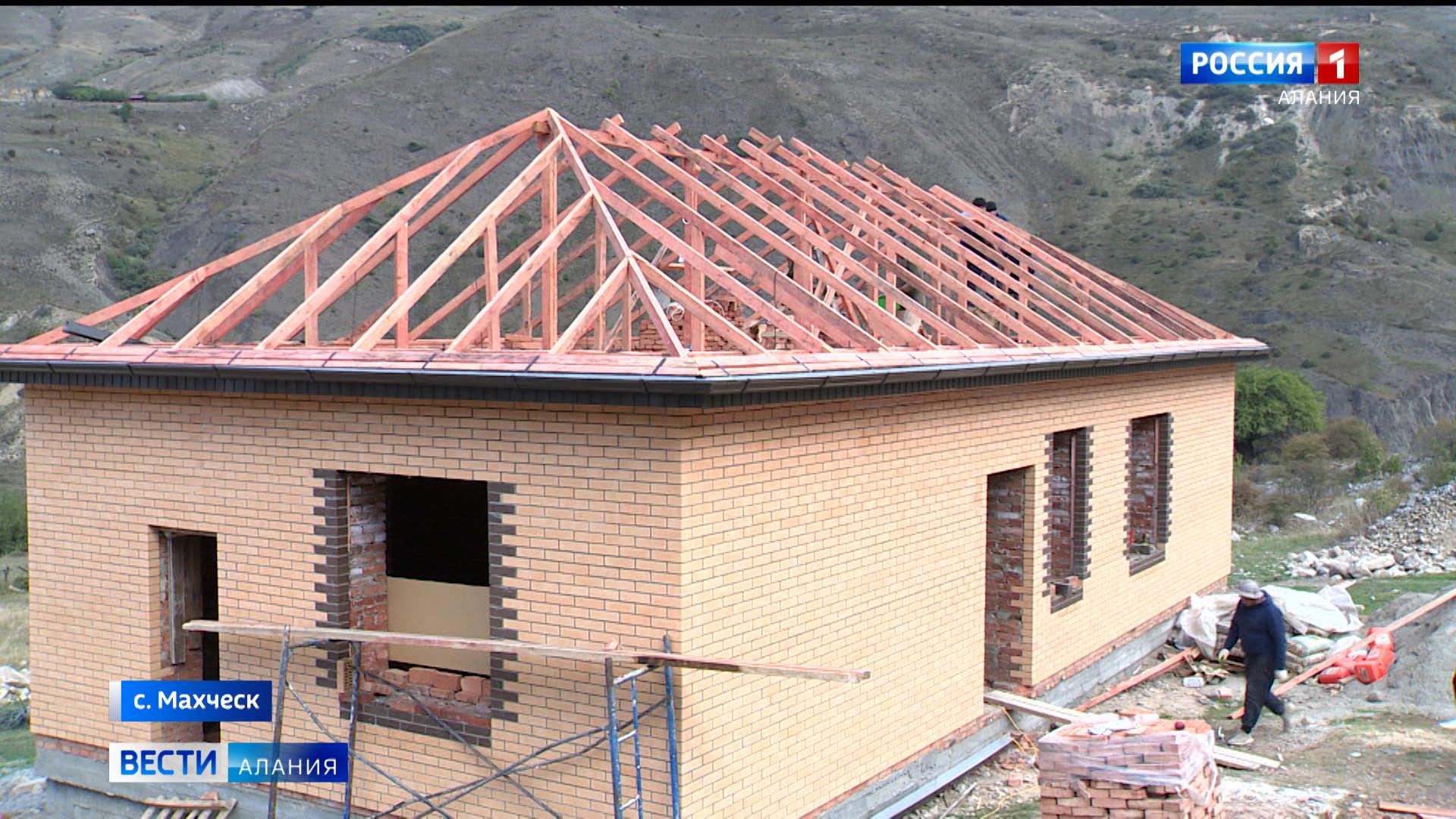 В Махческе продолжается строительство ФАПа