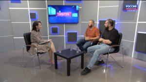 Культура. Батраз Засеев и Евгений Балтин