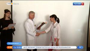 Работники медучреждений республики удостоены наград за большой вклад в борьбу с коронавирусной инфекцией