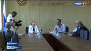 Общественные палаты Северной и Южной Осетии подписали договор о сотрудничестве