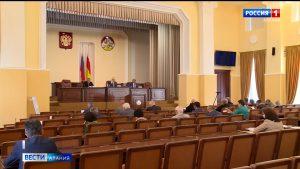 Во Владикавказе прошло плановое заседание Совета парламента
