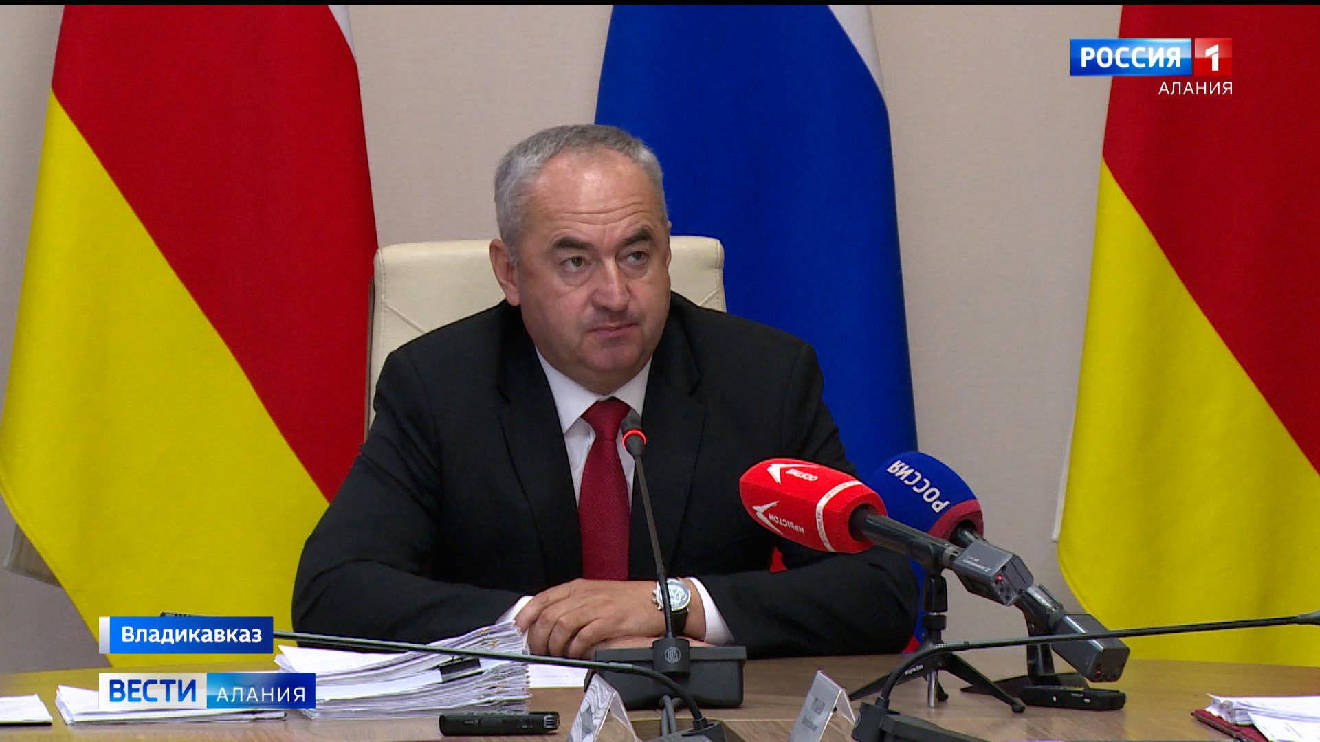 В правительстве Северной Осетии обсудили ряд социальных вопросов