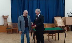 Фидар Фидаров награжден медалью «Во Славу Осетии»