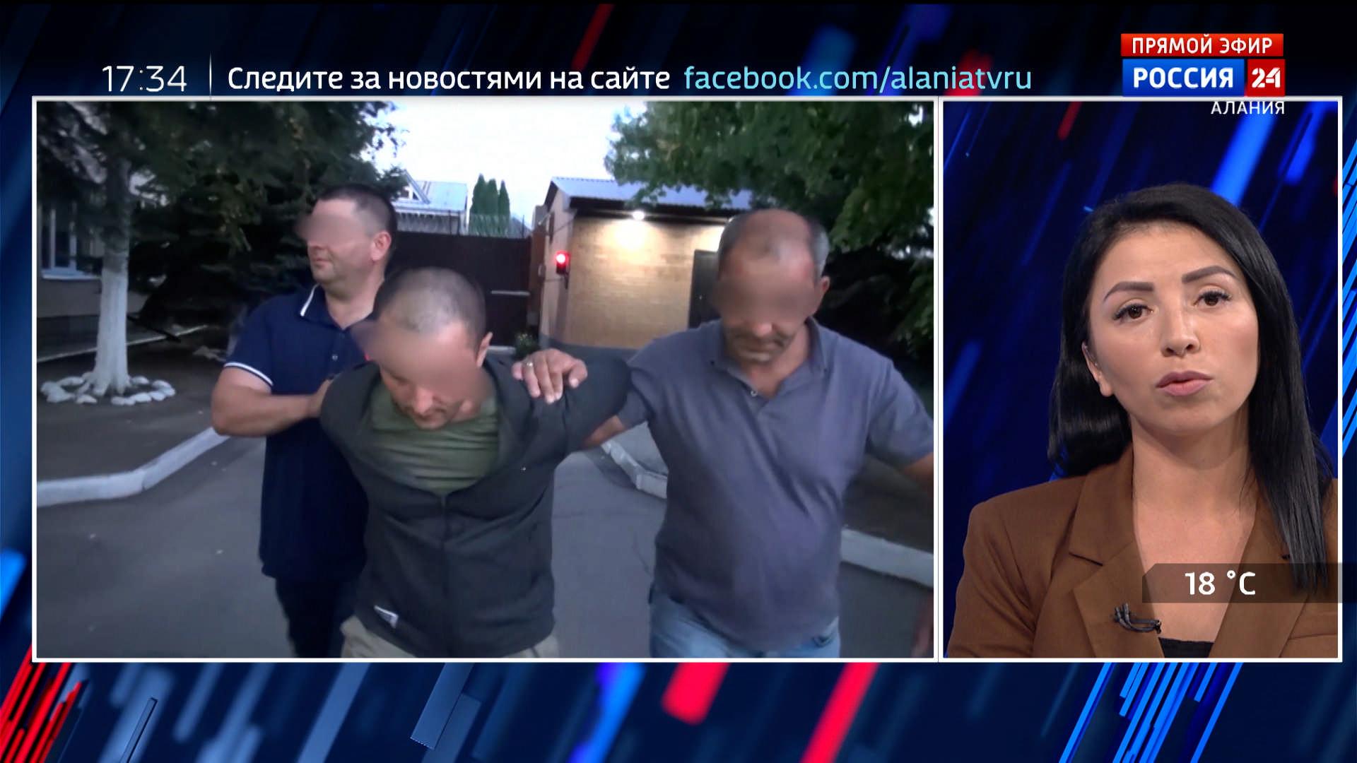 Полицейские Северной Осетии задержали подозреваемого в мошенничестве на территории соседнего региона