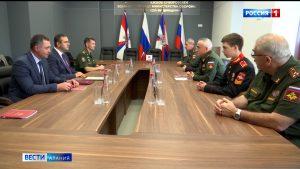 СОГУ и Северо-Кавказское суворовское военное училище создают образовательный кластер