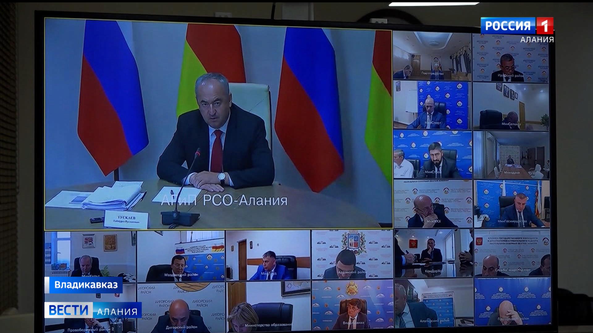 В правительстве Северной Осетии обсудили ход строительства социальных объектов и реализацию генплана Беслана