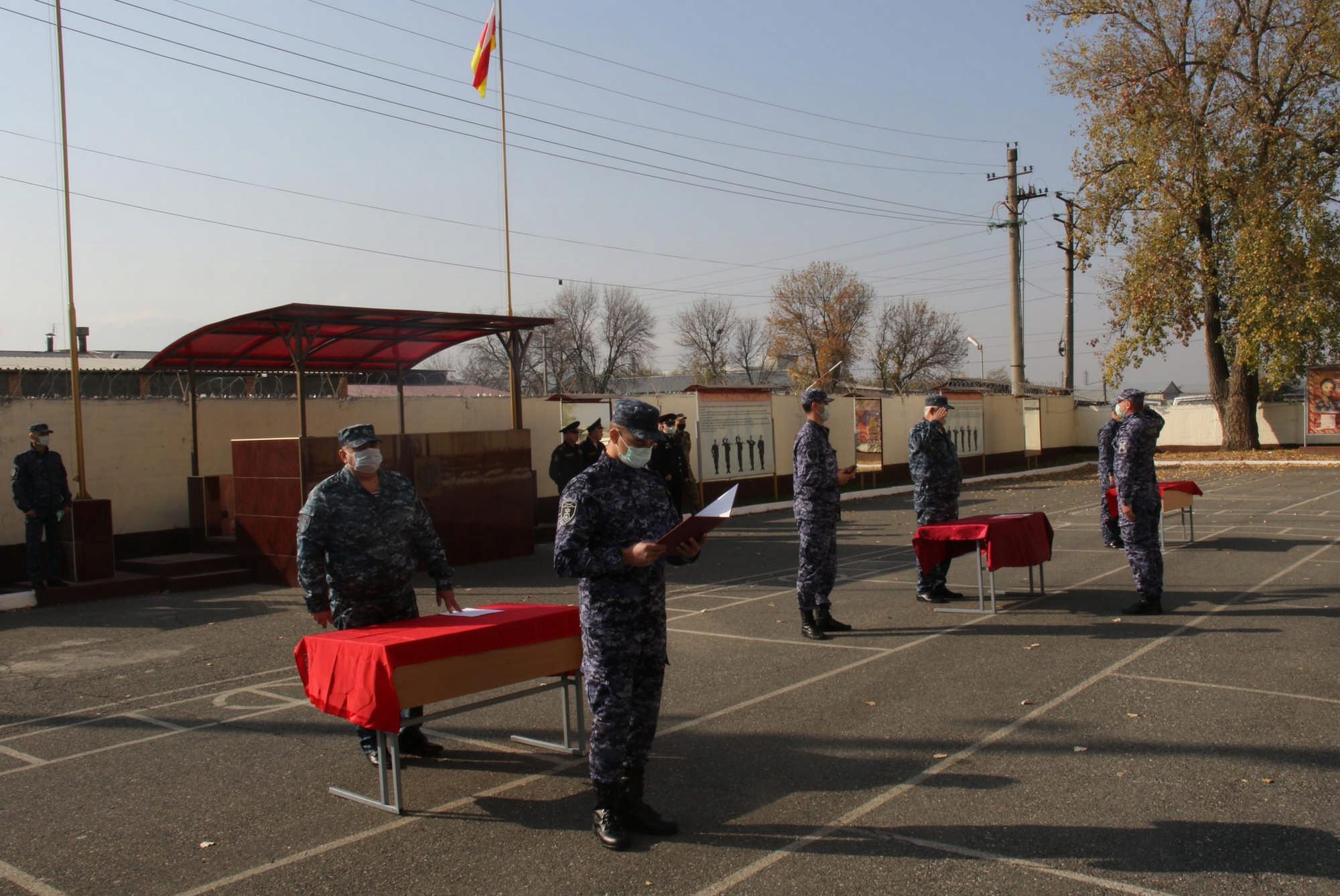 Во Владикавказе сотрудники Росгвардии приняли присягу