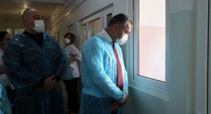 Анатолий Бибилов заболел коронавирусом