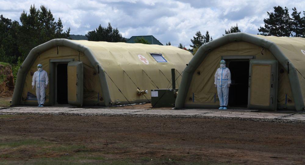 Руководство Южной Осетии запросило у России военно-полевой госпиталь для больных COVID-19
