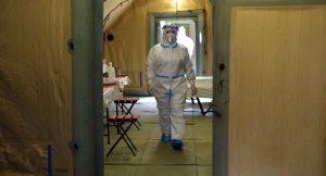 В Цхинвале развернут ковидный госпиталь Минобороны РФ