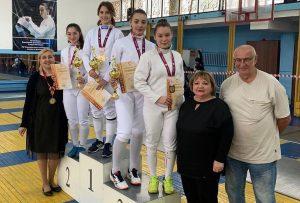 Во Владикавказе завершился чемпионат республики по фехтованию