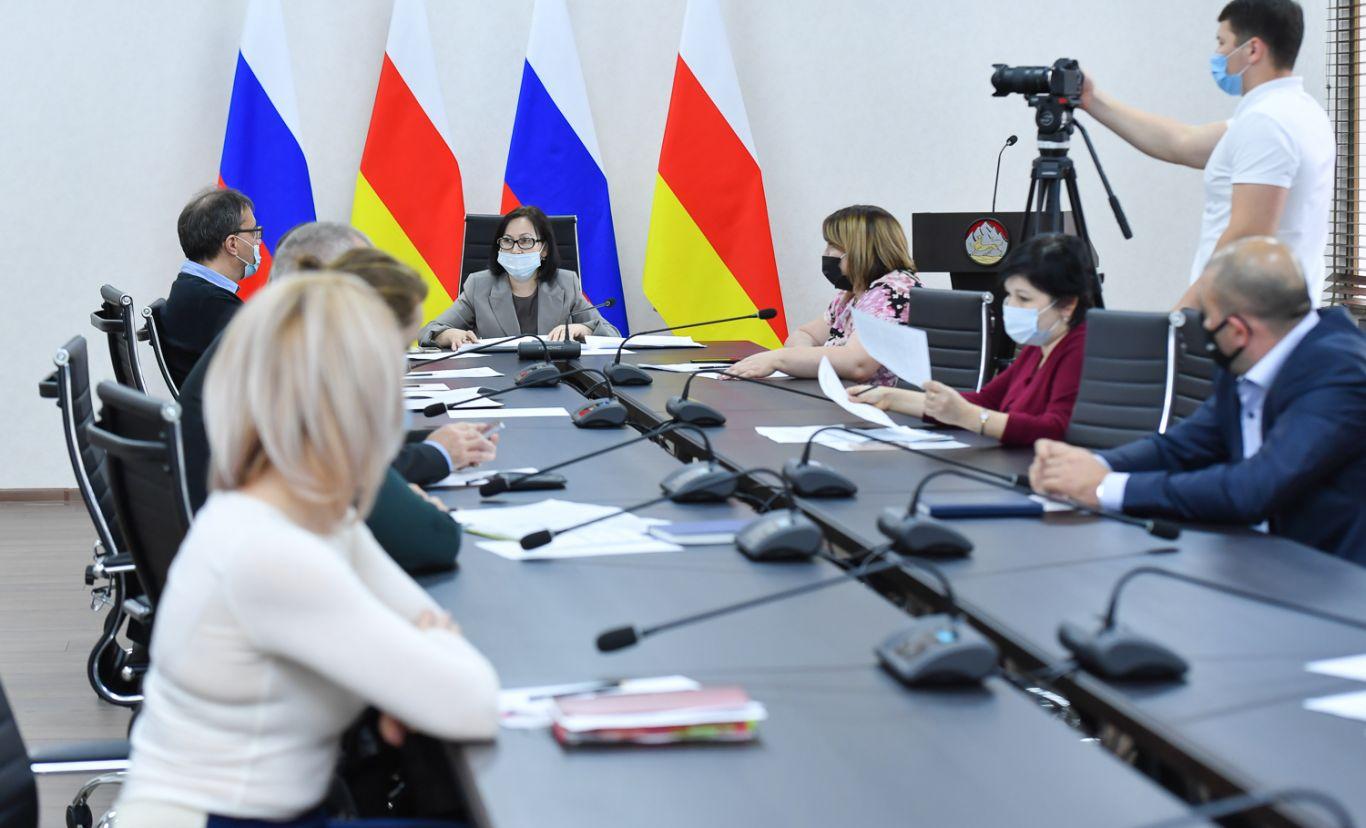 Во Владикавказе прошло совещание рабочей группы при Антинаркотической комиссии РСО-А