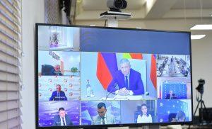 Вячеслав Битаров в  встретился с инициаторами идей, поступивших на форум «Сильные идеи для нового времени»