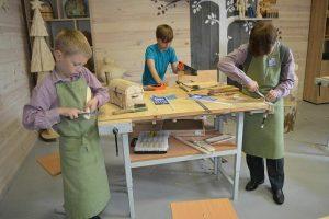 В моздокской коррекционной школе обустроили профессиональные мастерские