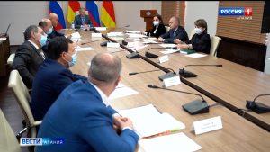 На заседании проектного офиса обсудили создание транспортно-логистического комплекса в Северной Осетии