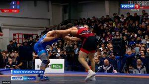 Осетинские борцы завоевали две золотые медали чемпионата России по вольной борьбе