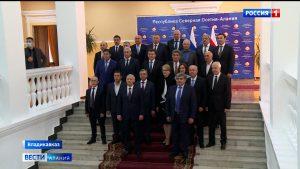Делегация Кабардино-Балкарии прибыла в Северную Осетию с официальным визитом