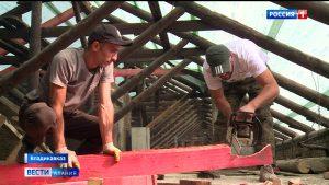 Во Владикавказе капитально ремонтируют дом, признанный объектом культурного наследия