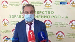 Тамерлан Гогичаев: 12 октября в Северной Осетии было зафиксировано рекордное количество госпитализаций в ковид-стационары