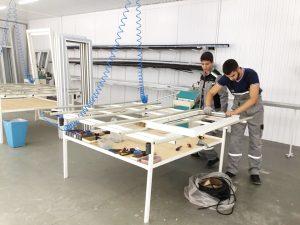 В ГМТ открыли производственную мастерскую